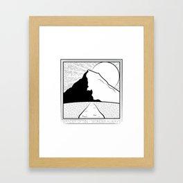 Wander Often - Wonder Always Framed Art Print