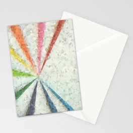 Geometry And Lines Stationery Cards