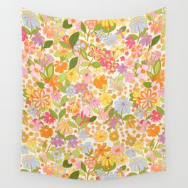 Nostalgia in the garden Wall Tapestry