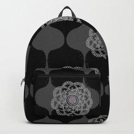 I DREAM OF GENIE - BLACK/GREY/PINK Backpack