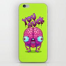 Neurotic Jerk iPhone & iPod Skin