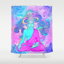 Magic Mushrooms Shower Curtain