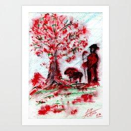 Pastor Art Print