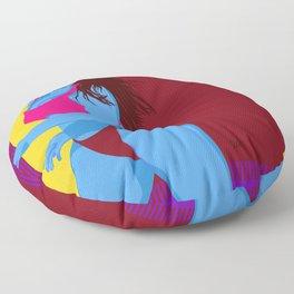 heat. wave. summer. day. Floor Pillow