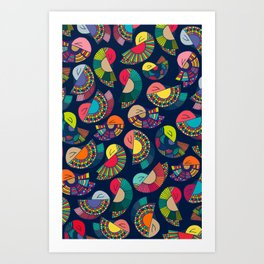 The dance Art Print