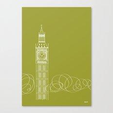 London by Friztin Canvas Print