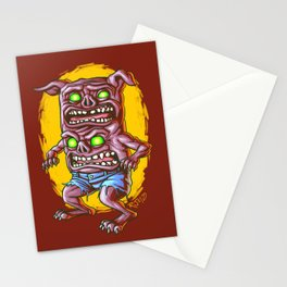 I Don't Care How Hungry You Are, I Gotta Piss! Stationery Cards