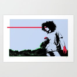 Caught Red Handed Art Print