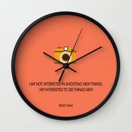 Seeing things Wall Clock