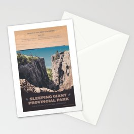 Sleeping Giant Provincial Park Stationery Cards