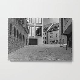 Fishermensquarter Ulm / Streetphotography Metal Print
