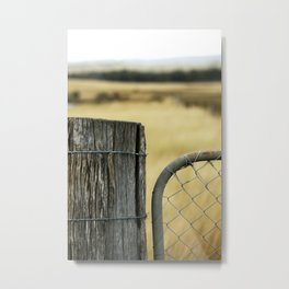 Summer Gate Metal Print
