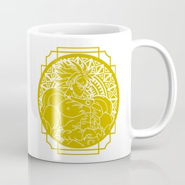Stained Glass - Dragonball - Broly Coffee Mug