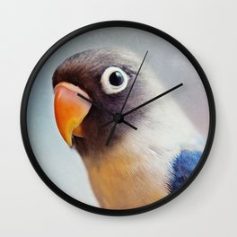 Lovey Portrait  Wall Clock