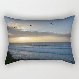 Pacific Coast Sunset Rectangular Pillow
