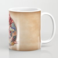 fantasy Mugs featuring SIREN by Tim Shumate