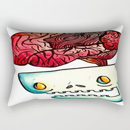 Out Of My Mind Rectangular Pillow