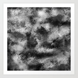 Powder print 1 Art Print