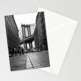 Manhattan Bridge Dumbo Brooklyn Stationery Cards