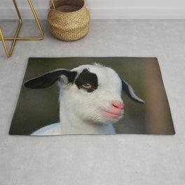 Cute Baby Goat Rug