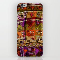 Abstract ethnic pattern. iPhone & iPod Skin
