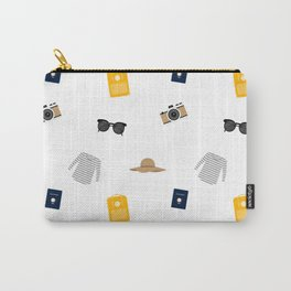 Travel Vibes Pattern Carry-All Pouch