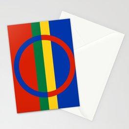 Flag of Sami Stationery Cards