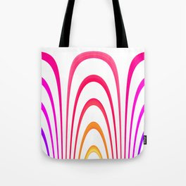Cheerful lines Tote Bag