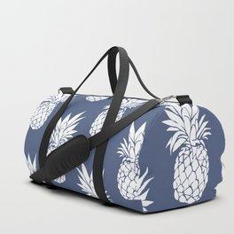 Pineapple Blues Duffle Bag