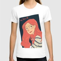 amy pond T-shirts featuring Amy Pond by Lara Pickle
