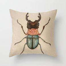 Urban Bug #1 Throw Pillow