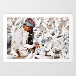 Peace in Afghanistan Art Print
