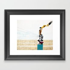 pitying muse Framed Art Print