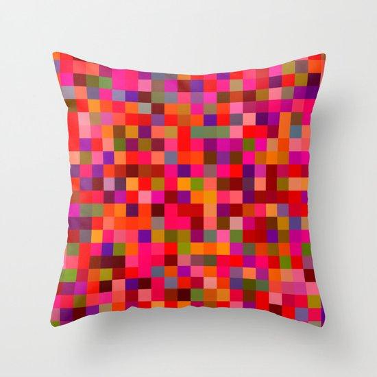 Pixel Painting Throw Pillow