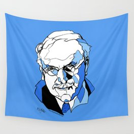 Swiss Psychiatrist Carl Jung Wall Tapestry