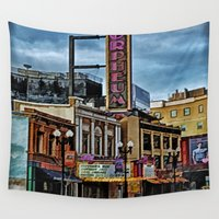 theater Wall Tapestries featuring Orpheum Theater by gypsykissphotography