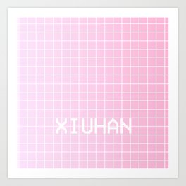 XIU HAN Art Print