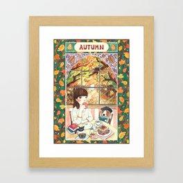 ~ A U T U M N ~ Framed Art Print