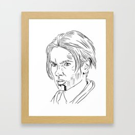 Young Indy Framed Art Print