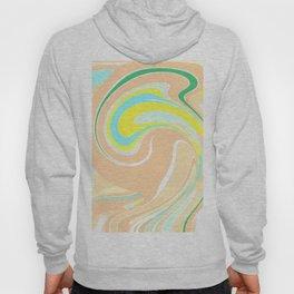 Abtsract Wave Pattern Hoody