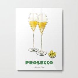 Prosecco Aperitivo Series Metal Print