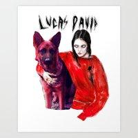 lucas david Art Prints featuring Lucas David  by Lucas David