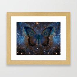 StarButterfly Framed Art Print