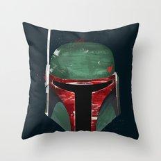 Bounty Hunter Throw Pillow