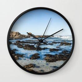 Mendocino Coast Wall Clock