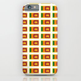 flag of sri lanka- ශ්‍රී ලංකා,இலங்கை, ceylon,Sri Lankan,Sinhalese,Sinhala,Colombo. iPhone Case