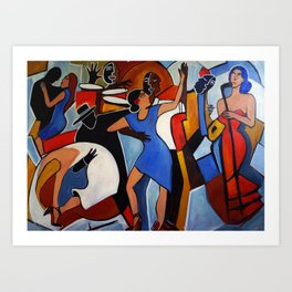 One Last Tango Art Print