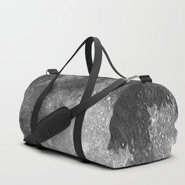 Black & White Moon Duffle Bag