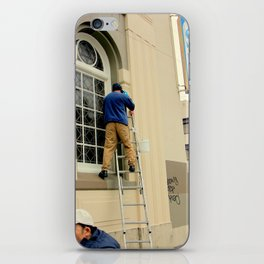 Hello Up There iPhone Skin