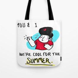 POP lyrics // COOL FOR THE SUMMER Tote Bag